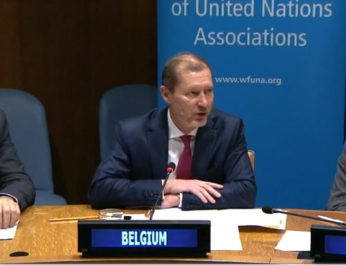 Briefing on Belgium's Presidency of UN Security Council