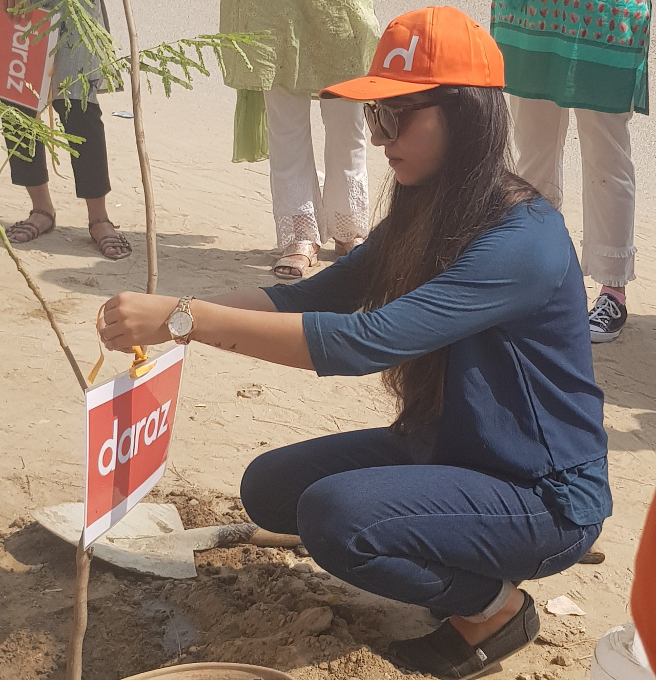 Plantation Drive in Partnership with Daraz