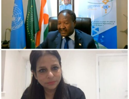 WFUNA's 29th CSO Dialogue with President of the Security Council