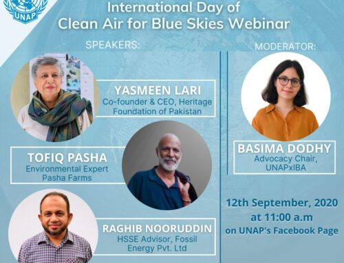 UN International Day of Clean Air for Blue Skies