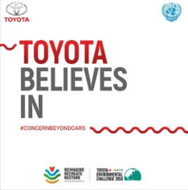 UNAP x Toyota for Environment 2021