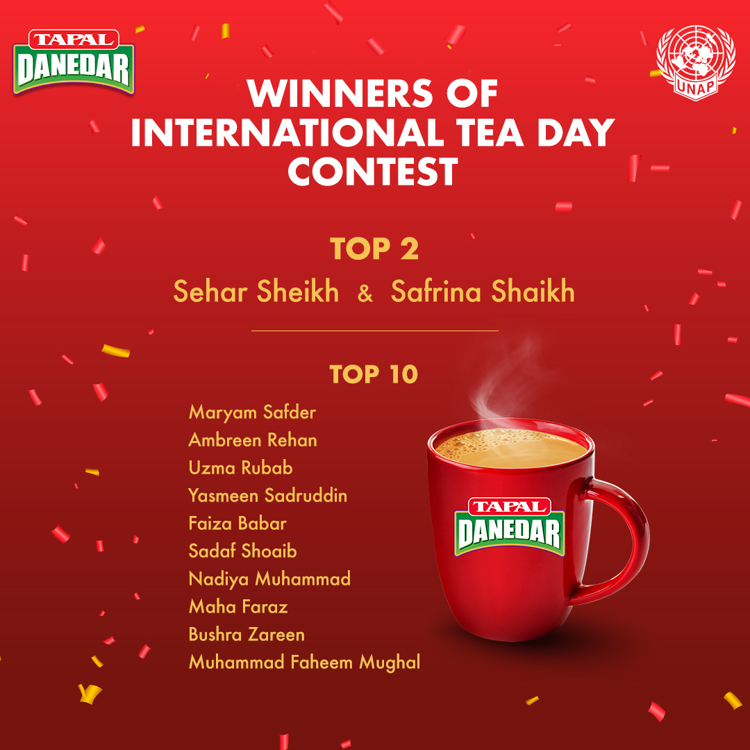 Announcement – Winners of International Tea Day Contest 2021